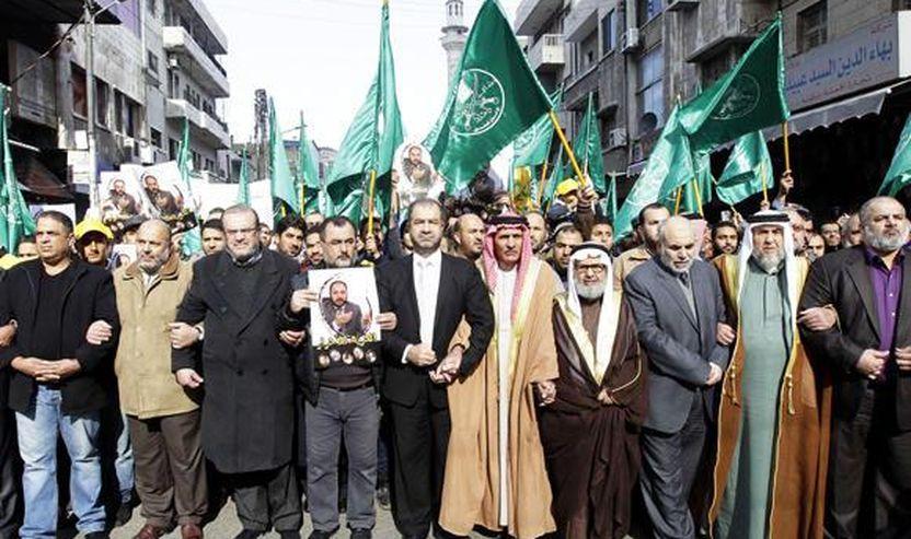 Udhëheqësit e Vëllazërisë Muslimane në Jordani udhëhoqën një demonstratë në Aman të premten kundër shkeljeve të Izraelit, lidhur me kompleksin e Xhamisë Al-Aksa në Jerusalem e Lindjes.