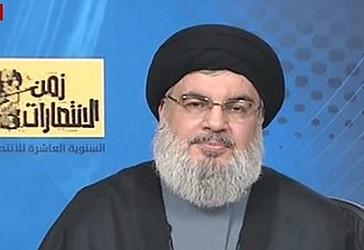 Sejjid Hassan Nasrallah,  Sekretari i Përgjithshëm i Lëvizjes Libaneze të Rezistencës 'Hizbollah'