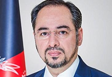 Ministri i jashtëm i Afganistanit,  Salahuddin Rabbani