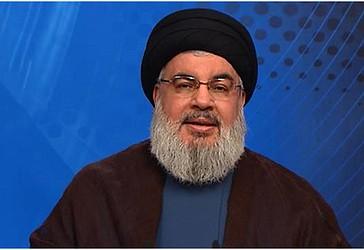 Sekretari i Përgjithshëm i Hizbullahut, Sajjid Hasan Nasrullah ka dhënë një deklaratë për shtyp në 9 dhjetor 2016  (Photo by AFP)