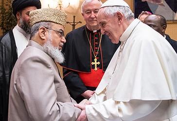 Imamët musliman në takim me Papën në Vatikan