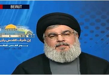 Sekretari i Përgjithshëm i Hizbullahut, Sejjid Hassan Nasrallah ka dhënë një fjalim me rastin e celebrimit të Ditës Ndërkombëtare të Palestinës më 23 qershor 2007.