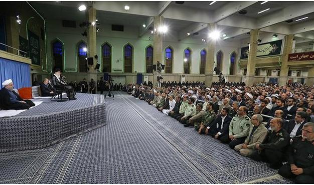 Më 26 qershor 2017, udhëheqësi i Revolucionit Islamik, Ajetullah Sejjid Ali Hamenei është takuar në Teheran me ambasadorë nga vendet islamike.