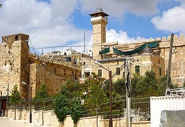 Xhamia e Hz. Ibrahimi në qytetin e vjetër të Hebronit