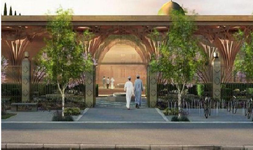 Xhamia e re e madhe Kembrixhit po hap dyert e saj për publikun.