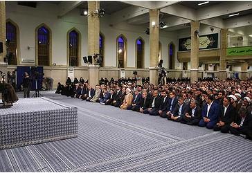 Udhëheqësi i Revolucionit Islamik Ajetullah Sejjid Ali Hamenei i është drejtuar parlamentarëve iranianë në Teheran më 20 qershor të vitit 2018