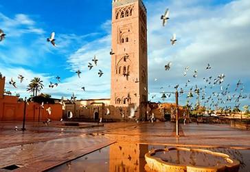 Xhamia Kutubia në Marrakeh