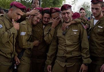 Ushtarët sionistë po qajnë pasi Hezbollah vrau disa prej tyre